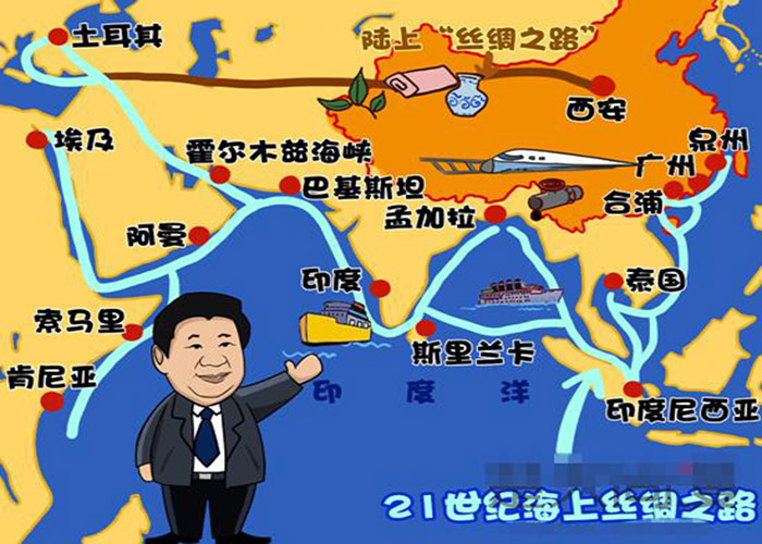 One Belt and One Road boosts the ASEMI