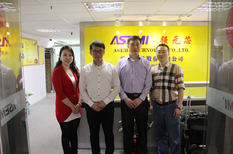 ASEMI extend warmly welcome to Korean ODT Company