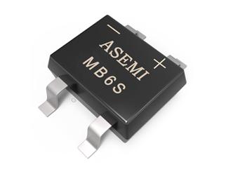 MB6S,MB8S,MB10S ASEMI SMD Bridge Rectifier