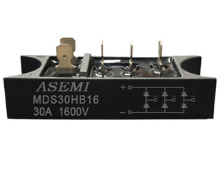 MDS30HB16/MDS30HB14/ ASEMI Three-phase rectifier module