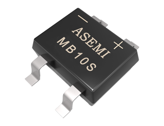 MB4S,MB6S,MB8S,MB10S   ASEMI SMD Bridge Rectifier