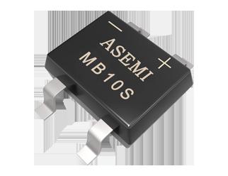 MB10S,MB8S,MB10S ASEMI SMD Bridge Rectifier