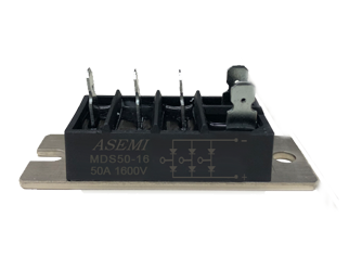 MDS50-16,MDS45-16,MDS35-16,MDS30-16,ASEMI MDS Rectifier Moudle