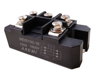 MDS100-16,MDS75-16,MDS60-16,ASEMI MDS Rectifier Moudle