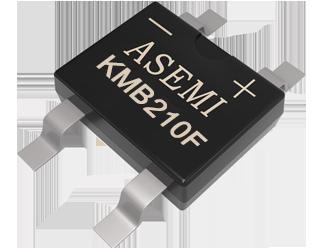 KMB210F/KMB24F/KMB26F ASEMI SMD schottky rectifier bridge