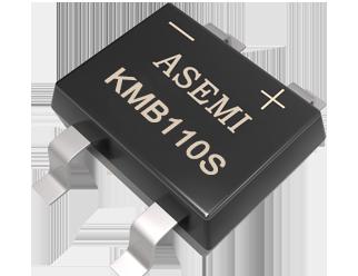 KMB110S/KMB14S/KMB16S,ASEMI SMD schottky rectifier bridge