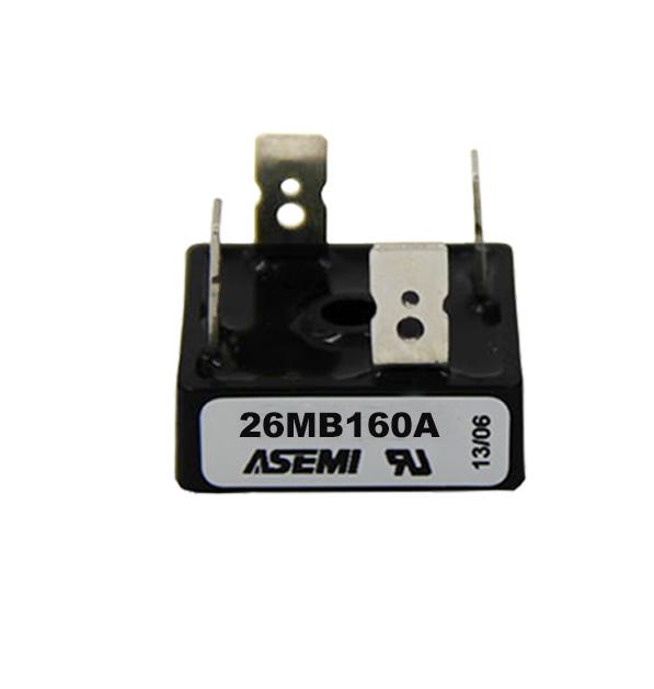 26MB160A/26MB140A/26MB120A/26MB100A   ASEMI bridge rectifier