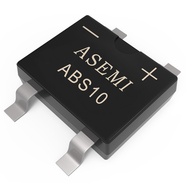 ABS10,ABS8,ABS6,ABS4,ABS2 ASEMI SMD  bridge rectifier