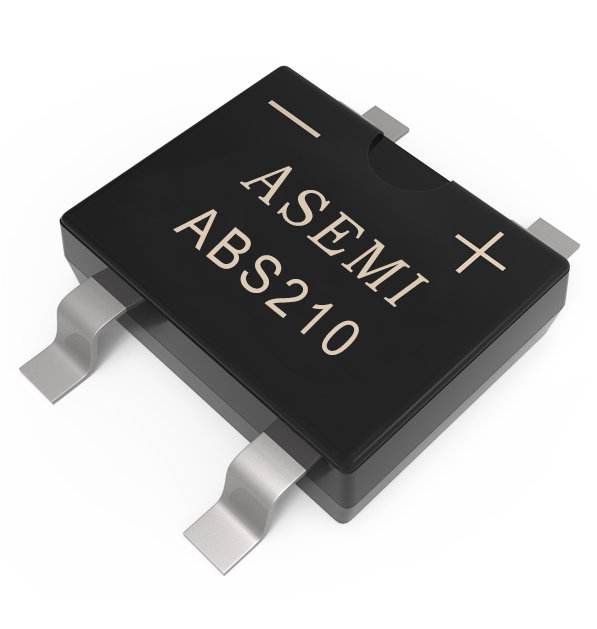 ABS210,ABS208,ABS206,ABS204,ABS202 ASEMI SMD  bridge rectifier