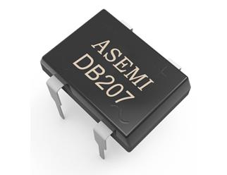 DB207/DB206/DB205/DB204 ASEMI SMD  bridge rectifier