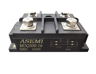 MDQ500-16/MDQ400-16/MDQ500-12  Single-phase rectifier module