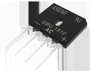 GBU1510,GBU1508,GBU1506,GBU1504,GBU1502 ASEMI  Bridge Rectifier