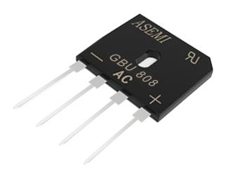 GBU808,GBU810,GBU806,GBU804,GBU802 ASEMI  Bridge Rectifier
