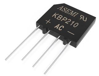 KBP210/KBP208/KBP206/KBP204/KBP202, ASEMI rectifier bridge