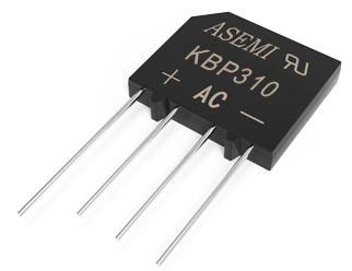 KBP310/KBP308/KBP306/KBP304/KBP302, ASEMI bridge rectifier