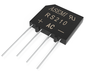 RS210/RS208/RS207/RS206   ASEMI rectifier bridge
