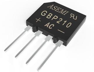 GBP210/GBP208/GBP206/GBP204/GBP202, ASEMI rectifier bridge