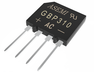 GBP310/GBP308/GBP306/GBP304/GBP302, ASEMI rectifier bridge