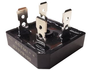 S25VB100/S25VB80/S25VB60, ASEMI bridge rectifier