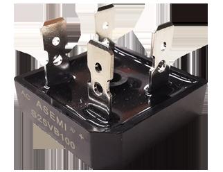 S25VB100/S25VB80/S25VB60, ASEMI bridge rectifier