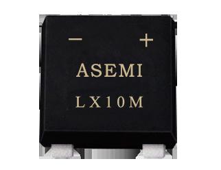 LX10M/LX8M/LX6M/LX4M/LX2M ASEMI SMD  bridge rectifier