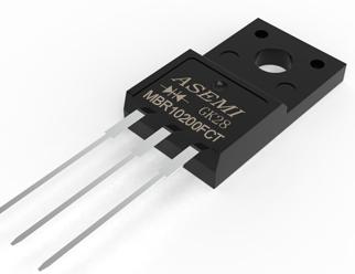 MBR10200FCT,MBR10150/10100/1040/1045/1060FCT, ASEMI Schottky