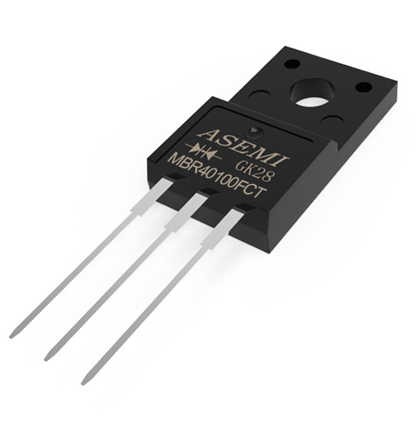 MBR40100FCT,MBR4045FCT,MBR4060FCT, ASEMI Schottky diode