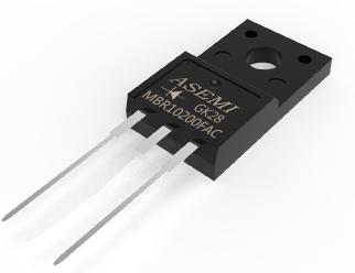 MBR10200FAC,MBR10150/10100/1040/1045/1060FAC, ASEMI Schottky