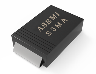 【S3M-SMA】S3MA,S3KA,S3JA,S3GA,S3DA,S3BA, ASEMI Rectifier diode