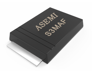 【S3M-SMAF】S3MAF,S3KAF,S3JAF,S3GAF,S3DAF, ASEMI Rectifier Diode