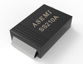 【SS210-SMA】SS210A,SS215A,SS220A,SS24A,SS26A,ASEMI Schottky diode