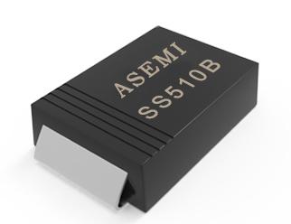 【SS510-SMB】SS510B,SS515B,SS520B,SS54B,SS56B,ASEMI Schottky diode